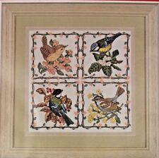 Ancla puntada cruzada contada Kit De Jardín Pájaros un 21.5cm X 22cm Floral
