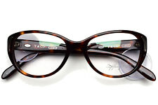 Tiffany & Co. Eyeglasses Cat Eye Havana 2086 8002 52-16-140 frame only