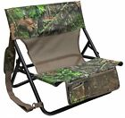 Hunting Blind Chair Foldable Folding Carry Strap Camo Comfortable Camping Beach