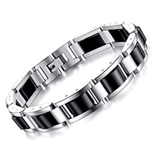 """Magnetic Therapy Bracelets Pain Relief for Arthritis with Remove Tool 8.66"""" Gift"""