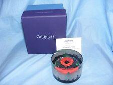 Caithness Glass Paperweight guerra mondiale una nelle Fiandre firelds l16100 WW1 RARO