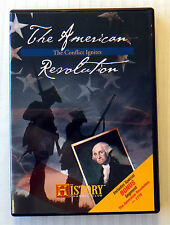 The American Revolution-The Conflict Ignites ~ Rare History Channel DVD War Show