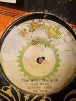 """Blue Bells, Jah Berry – Teacher Teacher / Golden Rule - 12"""" Vinyl Single 1978"""