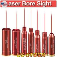 Red Dot Laser Copper Boresight Cartridge Bore Sighter Scope Hunting Tactical US