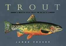 "Trout of the World by James Prosek 18/"" x 27/"" Wall Poster Fish Drawings WN4819"