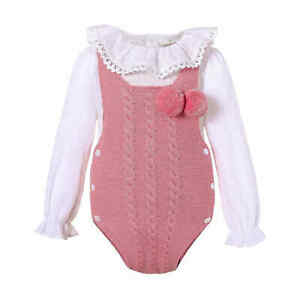 Pettigirl Baby Romper Girl Spanish Clothes Set with Shirt 6-9 9-12 12-18 Months