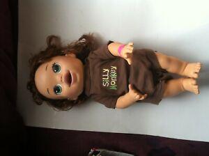 Hasbro Baby Alive Real Surprises Hispanic Brunette Doll English Spanish 2014