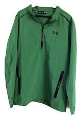 UNDER ARMOUR Storm 3 Paclite Half Zip GORE-TEX Waterproof Green Jacket Mens