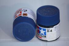 Tamiya Peinture Pot 10cl X4 Bleu