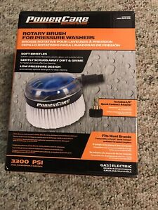 NEW Power Care 3300-PSI Rotating Brush for Pressure Washer