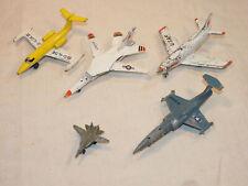 lot avions à réaction métalliques des années 70 en l'état