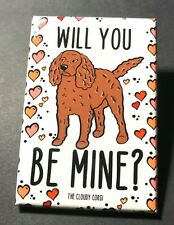 American Water Spaniel Valentines Day Magnet Handmade Holiday Dog Gift and Decor