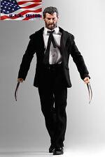 1/6 Logan Wolverine Custom Figure Full Set w/ Claws For Hugh Jackman X-Men ❶USA❶