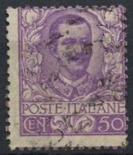 Italy 1901 SG#70, 50c Mauve Used Cat £18 Perf Shift Error #D8834
