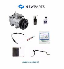 For Ford Ranger 1989 Custom 2.9L Complete AC Repair Kit w/ Compressor & Clutch