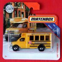 MATCHBOX 2019    GMC SCHOOL BUS    97/100   NEU&OVP