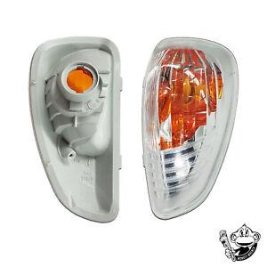 fits RENAULT MASTER MK3 DOOR WING MIRROR INDICATOR LENS LAMP - LEFT - 2010-2018