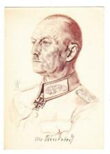 Germany THIRD REICH-WILLRICH PROPAGANDA CARD-FIELD MARSHAL von RUND
