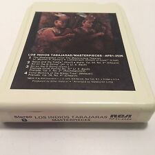 Los Indios Tabajaras - Masterpieces 8 Track - Nice Condition - Tested & Working
