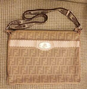 Fendi vintage Selleria crossbody shoulder bag