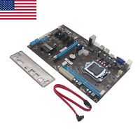 PCI-E Extender Riser Card for BTC Eth Rig Ethereum 6 GPU H81 Motherboard US-x