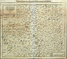 TSCHECHIEN - KÖNIGREICH BÖHMEN - Sebastian Münster - Holzschnitt Karte 1550