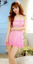 B69 SEXY Negligee String S M L XL 38 40 42 44 46 Babydoll Nachthemd Wäsche