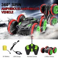 4WD RC stunt car 6CH Amphibious Off Road Electric Race Double Side car