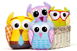 Owls Family Soft Toy, Set of 4   Christmas Gift, Soft Toy,