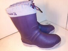 Kamik Purple Rain Winter Boots Big Girls Size 4