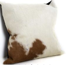 NEW COWHIDE LEATHER CUSHION COVER