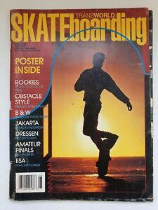 Transworld Skateboarding Magazine June 1989 Volume 7 Number 3