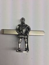 Sir Francis Drake WE-TP1D English Pewter Emblem on a Tie Clip (slide)