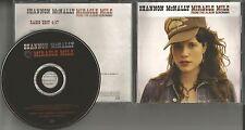 SHANNON McNALLY Miracle Mile 2005 PROMO Radio DJ CD single USA MINT