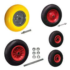 Schubkarrenrad Bollerwagenrad Sackkarrenrad FlatFree Bollerwagenreifen PU Reifen