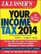 J.K. Lasser's Your Income Tax 2014: For Preparing Your 2013 Tax Return [Oct 28..