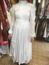 vintage laura ashley wedding dress