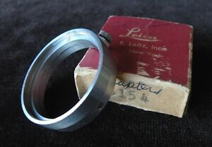 LEICA SOOGZ #13154 - A36 to E39 Adapter Ring with Box