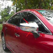 4PCS Car rear view mirror side molding cover trim For 2014 2015 Mazda 6 ATENZA