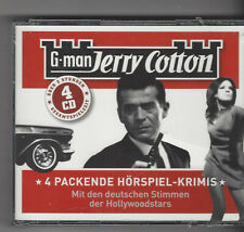 Jerry Cotton Box, Cotton, Jerry  4 CD SET G-man Bastei 50 Jahre Jerry Cotton