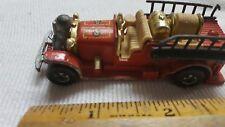 Vintage Hot Wheels Fire Engine Old Number Five Mattel Made In Hong Kong 1980?