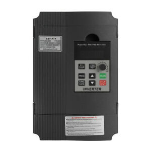 2.2KW 12A 220V AC Motor Drive Variable Inverter VFD Frequency Speed Controller
