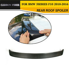 Carbon Fiber Rear Roof Spoiler Trunk Wing Lip Fit for BMW F10 Sedan 2010-2016