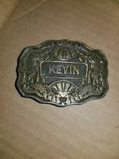Kevin Belt Buckle Name Spelled Out Oden Inc