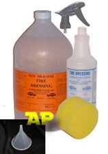 Non Silicone Tire Shine/gloss/glaze/dressing/1 gallon