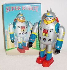 Brand New Super Robot Ms 417 Wind Up Tin Robot