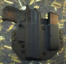 Hunt Ready Holsters: CZ 75 P01 OWB Holster with Extra Mag Carrier