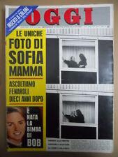 OGGI n°52 1968 Sofia Loren Fenaroli Bob Kennedy Giacomo Lercaro [C53A]