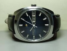 VINTAGE ENICAR AUTOMATIC DAY DATE SWISS MENS WRIST WATCH USED ANTIQUE H610 OLD