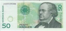 Norway banknote P46d 50 Kroner 2011 with letter Prefix, UNC We Combine
